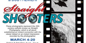 """Straight Shooters"" Photography Exhibit - Bob Palmieri and Larry Lapidus"