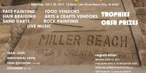 Sand Sculpting Competition and Beach Party