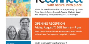 Reconnect - an exhibition of landscape paintings