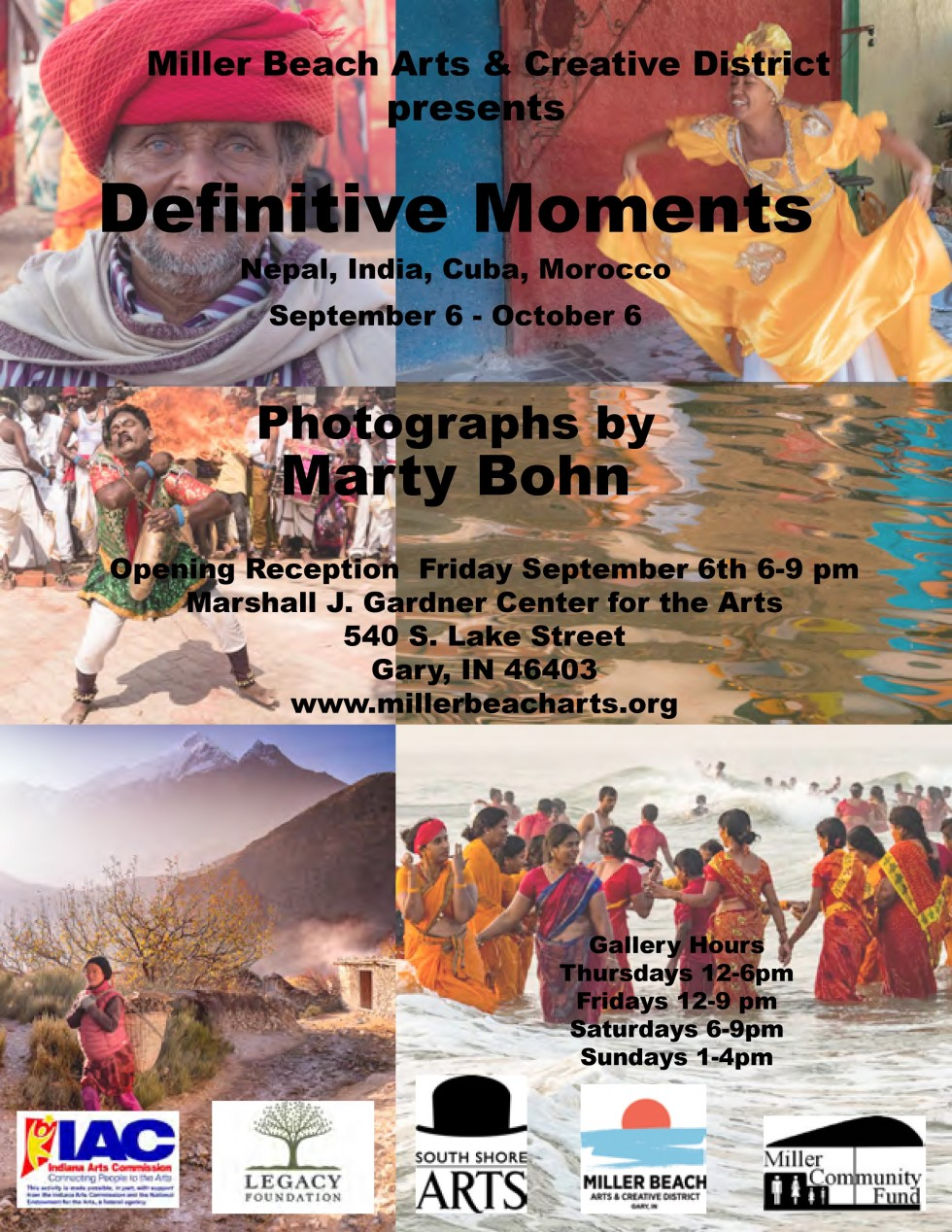 """Opening Reception """"Definitive Moments"""""""